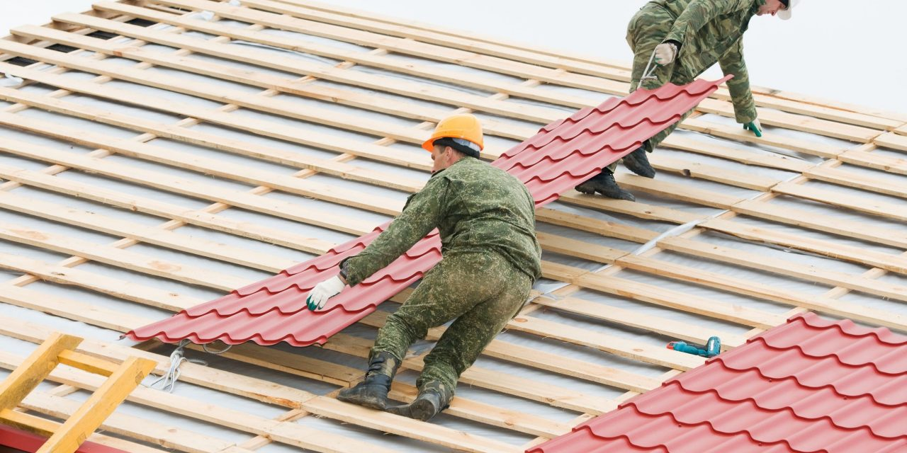 Roofing Services in Livingston – Is a Flat Roof a Good Choice for a Residential Property?