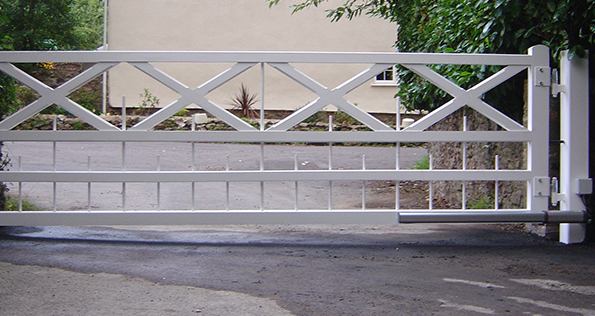 What options are available for gate automation?