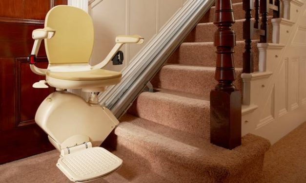 Installing a stairlift will help you navigate your home with ease