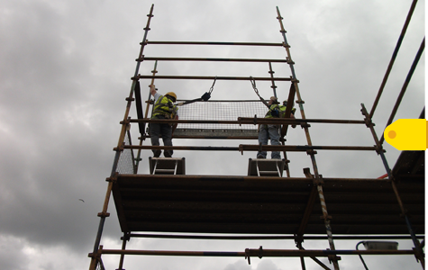 Stay Safe While Working on Scaffolding