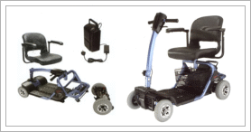 The Convenience of Mobility Scooters for the Handicap and Disabled